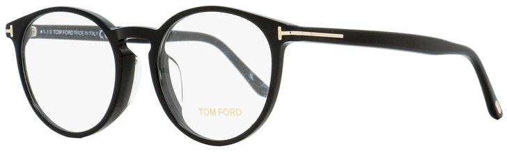 Tom Ford Alternative Fit Eyeglasses TF5524F 001 Shiny Black 52mm FT5524