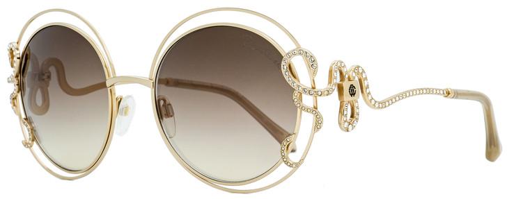 Roberto Cavalli Round Sunglasses RC1024 Carducci 28G Gold  55mm 1024