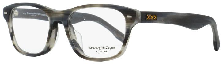 Ermenegildo Zegna Couture Eyeglasses ZC5013F 063 Matte Gray Melange 55mm 5013