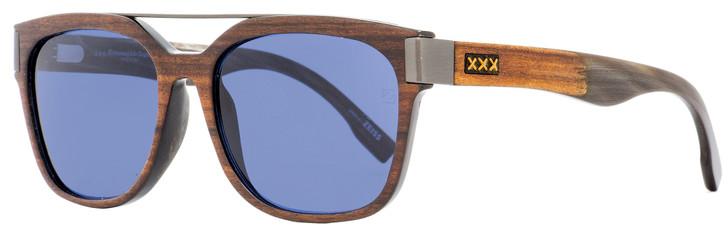 Ermenegildo Zegna Couture Sunglasses ZC0005 50V Asam Wood/Horn/Ruthenium 56mm 0005