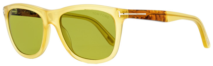 Tom Ford Rectangular Sunglasses TF500 Andrew 41N Honey 54mm FT0500