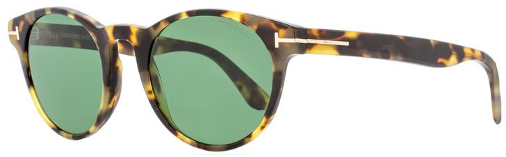 Tom Ford Oval Sunglasses TF522 Palmer 56N Tortoise 51mm FT0522
