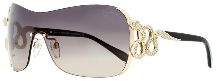 Roberto Cavalli Shield Sunglasses RC926S-A Nusakan 28B Gold/Black 0mm 926