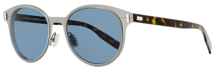 Dior Oval Sunglasses Depth 01 HS49A Ruthenium/Havana 52mm