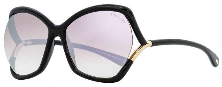 Tom Ford Butterfly Sunglasses TF579 Astrid-02 01Z Black 61mm FT0579