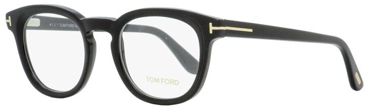 Tom Ford Oval Eyeglasses TF5469 002 Matte/Shiny Black 48mm FT5469