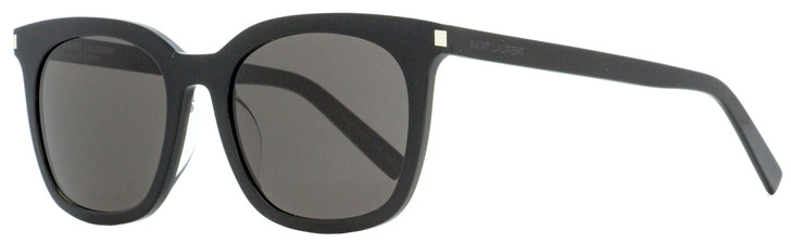 Saint Laurent Rectangular Sunglasses SL 285F Slim 001 Black 54mm YSL