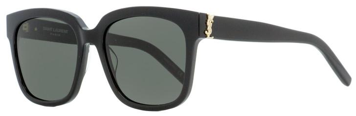 Saint Laurent Square Sunglasses SL M40 003 Black 54mm YSL
