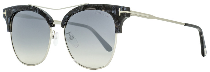 Tom Ford Square Sunglasses TF549K 05C Gray Melange 56mm FT0549