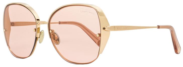 Roberto Cavalli Semi-Rimless Sunglasses RC1103  33S Gold/Rose 60mm 1103