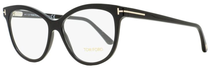Tom Ford Butterfly Eyeglasses TF5511 001 Black 54mm FT5511