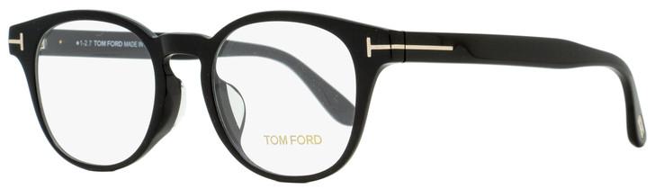 Tom Ford Oval Eyeglasses TF5400F 001 Black 49mm FT5400