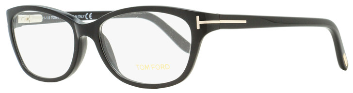 Tom Ford Rectangular Eyeglasses TF5142 001 Black 54mm FT5142