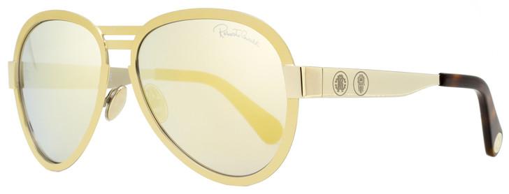 Roberto Cavalli Aviator Sunglasses RC1133 30C Gold/Havana 59mm 1133