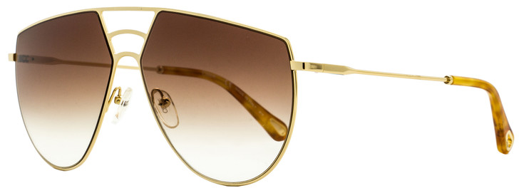Chloe Aviator Sunglasses CE139S Ricky 743 Gold/Blonde Havana 62mm 139