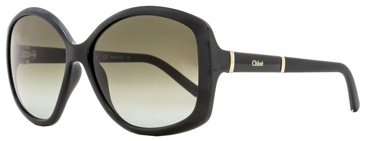 Chloe Butterfly Sunglasses CE663S Diasy 001 Black 58mm 663