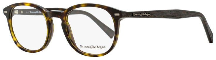 Ermenegildo Zegna Oval Eyeglasses EZ5070 052 Dark Havana 48mm 5070