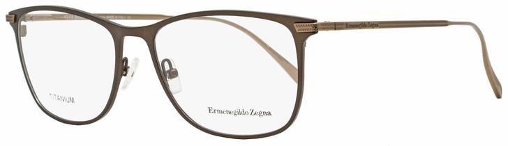 Ermenegildo Zegna Rectangular Eyeglasses EZ5103 050 Matte Brown/Brown 55mm 5103