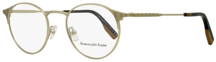 Ermenegildo Zegna Oval Eyeglasses EZ5123 033 Light Gold/Havana 48mm 5123