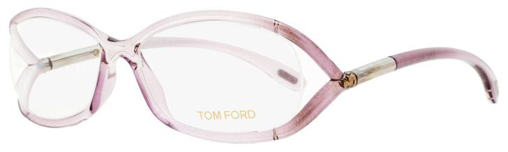 Tom Ford Oval Eyeglasses TF5045 486 Transparent Amethyst 56mm FT5045