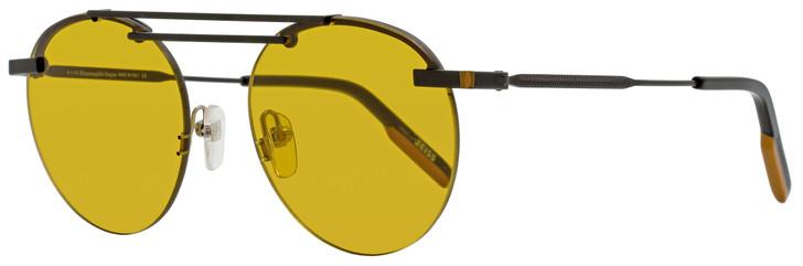 Ermenegildo Zegna Rimless Sunglasses EZ0116 02E Matte Black/Black 52mm 0116
