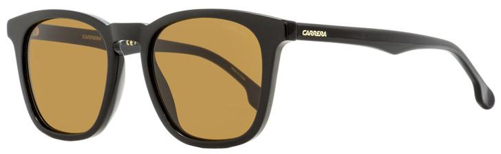 Carrera Rectangular Sunglasses 143/S 80770 Shiny Black 20mm 143