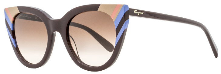 Salvatore Ferragamo Cateye Sunglasses SF867S 606 Wine 20mm 867
