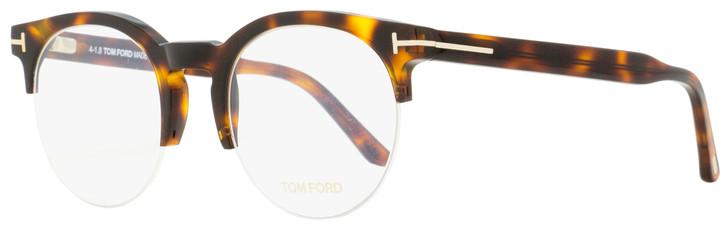 Tom Ford Oval Eyeglasses TF5539 056 Havana 52mm FT5539
