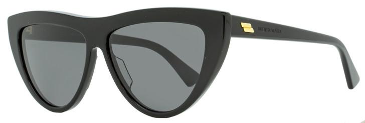 Bottega Veneta Cateye Sunglasses BV1018S 001 Black 57mm 1018