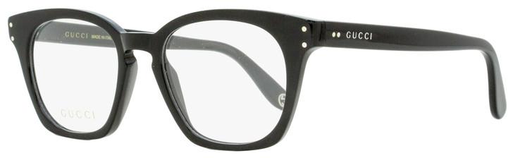 Gucci Square Eyeglasses GG0572O 006 Black 50mm 0572