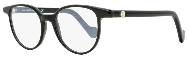 Moncler Oval Eyeglasses ML5032 001 Black 47mm 5032