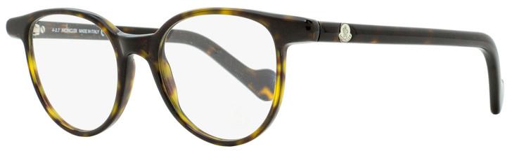 Moncler Oval Eyeglasses ML5032 052 Dark Havana 47mm 5032