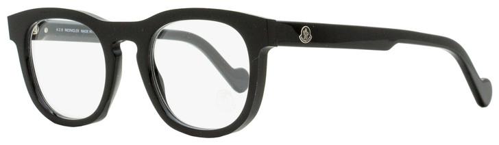 Moncler Oval Eyeglasses ML5040 001 Black 49mm 5040