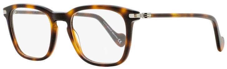 Moncler Rectangular Eyeglasses ML5045 054 Red Havana 52mm 5045