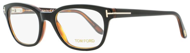 Tom Ford Rectangular Eyeglasses TF5207 005 Black/Havana 49mm FT5207