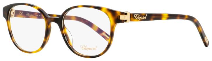 Chopard Oval Eyeglasses VCH198S 0748 Havana/Gold 51mm 198