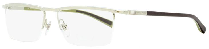 Chopard Semi-rimless Eyeglasses VCHA06 579X Palladium/Matte Brown 56mm A06