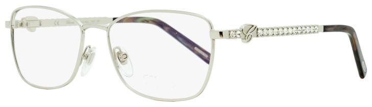 Chopard Rectangular Eyeglasses VCHB50S 0589 Palladium/Brown/Gray 53mm B50