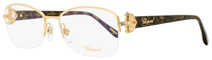 Chopard Semi-Rimless Eyeglasses VCHB99S 08FC Copper Gold/Melange 55mm B99