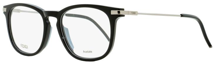 Fendi Rectangular Eyeglasses FF0226 807 Black/Ruthenium 53mm 226