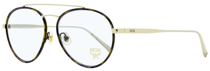 MCM Aviator Eyeglasses MCM2121 733 Gold/Havana 55mm 2121