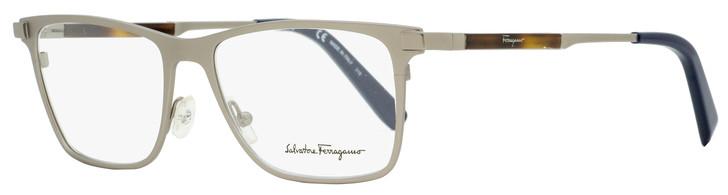 Salvatore Ferragamo Rectangular Eyeglasses SF2165 033 Matte Gunmetal 54mm 2165