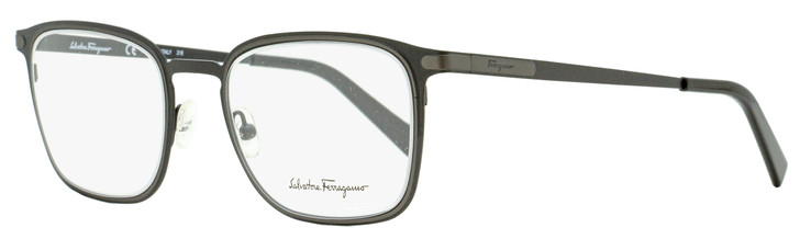 Salvatore Ferragamo Rectangular Eyeglasses SF2172 002 Matte Black 52mm 2172