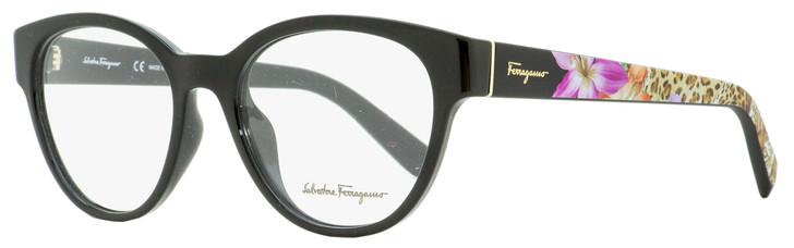Salvatore Ferragamo Oval Eyeglasses SF2777 001 Black 53mm 2777