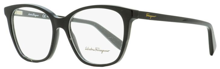 Salvatore Ferragamo Square Eyeglasses SF2817 001 Black 52mm 2817