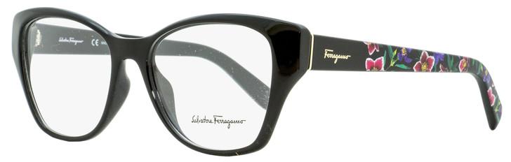 Salvatore Ferragamo Cateye Eyeglasses SF2827 001 Black 53mm 2827