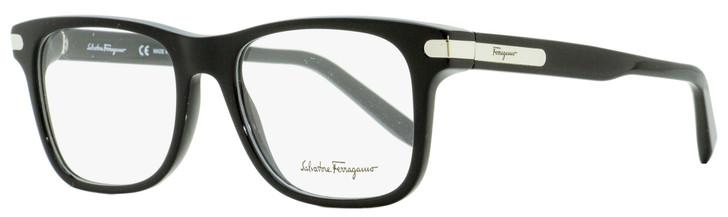 Salvatore Ferragamo Rectangular Eyeglasses SF2829 001 Black/Palladium 53mm 2829