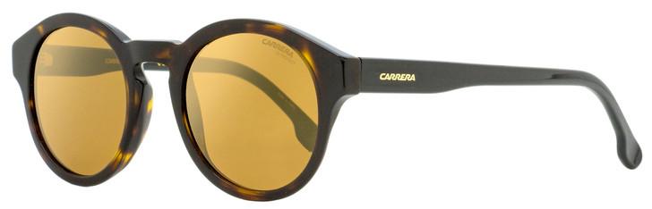 Carrera Oval Sunglasses 165/S 086K1 Dark Havana 49mm 165