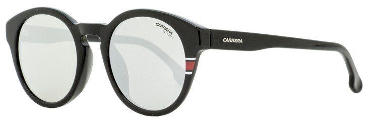 Carrera Oval Sunglasses 184/F/S 003T4 Shiny Black 51mm 184