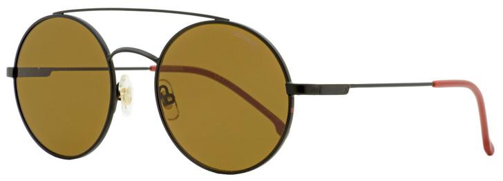Carrera Oval Sunglasses 2004/T/S 00370 Matte Black/Burgundy 51mm 2004